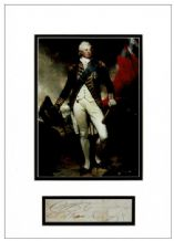 King William IV Autograph Signed Display
